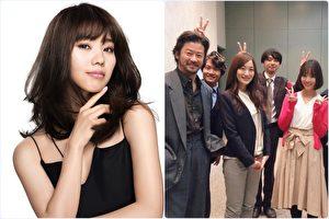 日本名模池端玲名(左)近來在日本參與日劇拍攝(右),最近代言的面膜熱銷,人氣後勢看漲。(SEXYLOOK,富士電視台/大紀元合成)