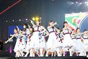 """日本女团""""乃木坂46""""在出道5年8个月后,于11月7日、8日首次登上东京巨蛋舞台。(SONY提供)"""