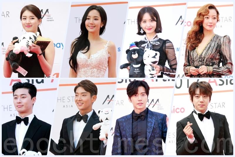 2017亞洲明星盛典 眾多明星聚集