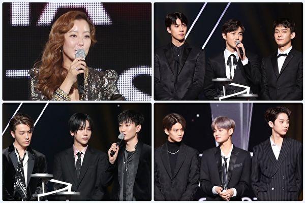 """金喜善EXO""""AAA""""捧大奖 Wanna One获新人奖"""