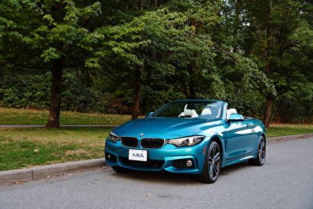 2018 BMW 440i Cabriolet。〈李奧/大紀元〉