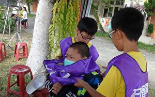 台血癌童夢想回校參加大隊接力 同學陪他跑