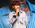 韓團「INFINITE」隊長金聖圭來台舉辦粉絲見面會,吸引近4000名粉絲共襄盛舉。(大方娛樂提供)