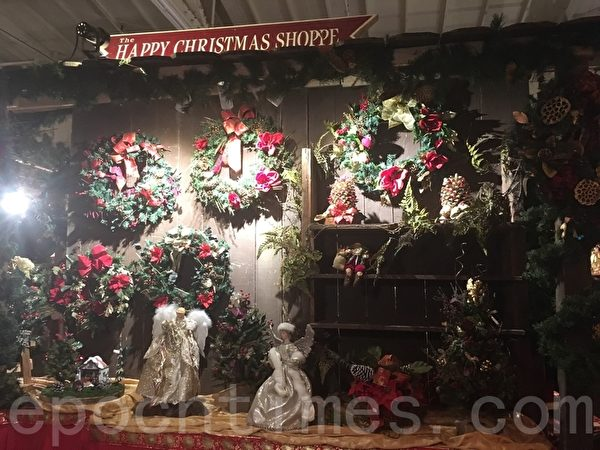 旧金山狄更斯圣诞展 穿越到19世纪的英国
