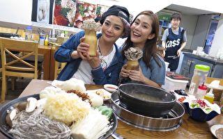 小甜甜與王宇婕赴韓錄影 當人魚不成變炸蝦