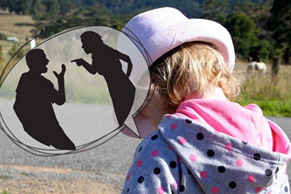 父母常常吵架,最难过的就是孩子。不过,他们很有可能成为父母婚姻的救星。(Pixabay/大纪元合成)