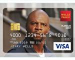 达丽尔向富国银行 提出申请,想用泰瑞·克鲁斯的照片做新借记卡的背景,却被告知她需要取得明星本人的书面许可。(推特截图)