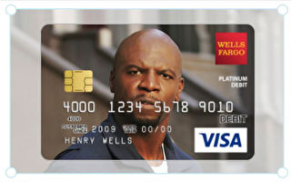 達麗爾向富國銀行 提出申請,想用泰瑞·克魯斯的照片做新借記卡的背景,卻被告知她需要取得明星本人的書面許可。(推特截圖)