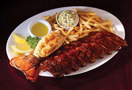 Bâton Rouge的龙虾海鲜宴。(Bâton Rouge提供)