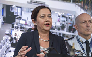 澳大利亞昆州州長帕勒謝(Annastacia Palaszczuk)。(Glenn Hunt/Getty Images)