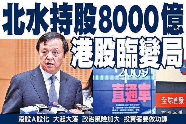 大陸投資者持股8000億 香港股市面臨變局