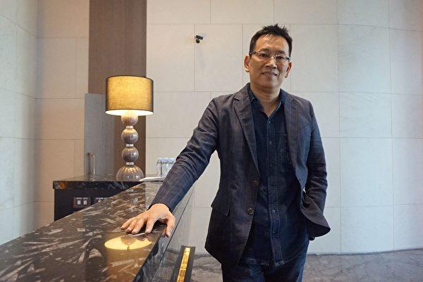 台湾豪宅会馆首席设计师王胜正(谢平平/大纪元)