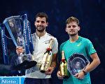 男子網壇年終總決賽 迪米特洛夫首次登頂