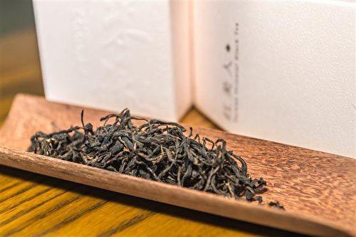 紅美人-蜜香紅茶,經小綠葉蟬叮咬,口感甘醇。(圖:香采緣人文品茗坊提供)