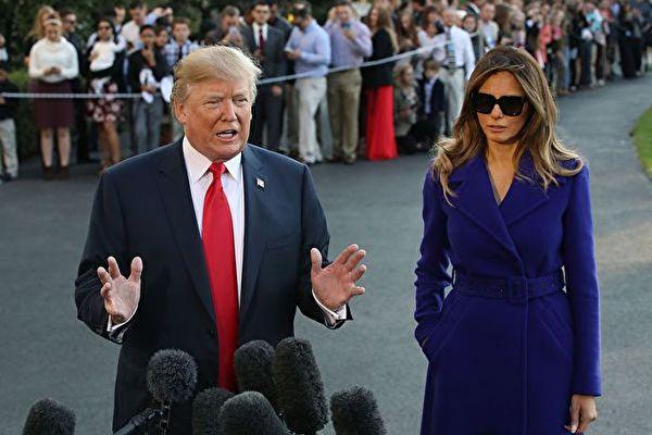 美国总统川普先生将对中国进行为期三天的国事访问。(Mark Wilson/Getty Images)