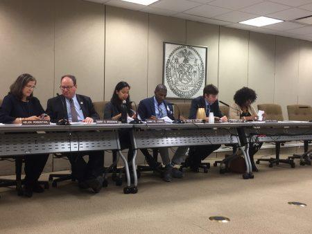 11月20日市议会福利委员会和房屋建筑委员会召开听证会,关注纽约市游民房屋问题。
