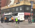 9月18日,法拉盛中心区发生夺命车祸,造成三人死亡,16人受伤。 (韩瑞/大纪元)