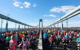 TCS紐約市馬拉松大賽本週日正式起跑。 (Michael Reaves/Getty Images)
