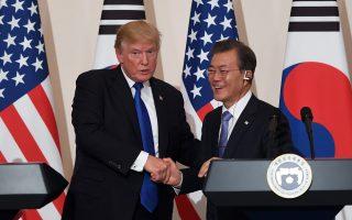 文金會後韓美首腦即通話 韓總統或5月訪美