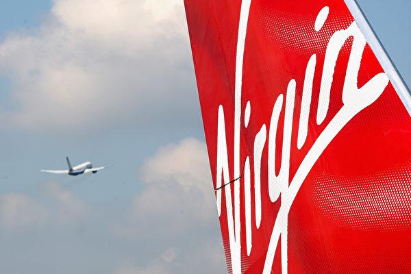 維珍澳洲是澳洲第二大航空公司由阿提哈德航空公司、新加坡航空公司、南山資本和海航航空集團等四家公司各持20%股份、維珍集團持股10%,餘下的股份上市交易。  (Gareth Cattermole/Getty Images)