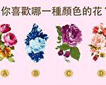 四種花你喜歡哪一種?(大紀元製圖)
