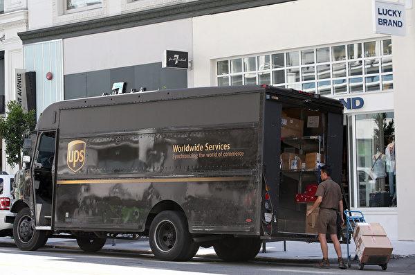 送UPS快遞上門,普爾迪聽到房內傳出女人的求救聲。(Justin Sullivan/Getty Images)