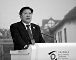 2014年11月19日魯煒在浙江的國際互聯網大會上。(JOHANNES EISELE/AFP/Getty Images)