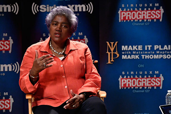 前民主党全国委员会(DNC)主席唐娜・布拉齐勒(Donna Brazile)。 (Larry French/Getty Images for SiriusXM)