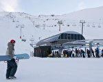 哈特山(Mt Hutt)滑雪場。(Simon Fergusson/Getty Images)