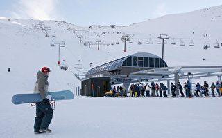 哈特山(Mt Hutt)滑雪场。(Simon Fergusson/Getty Images)
