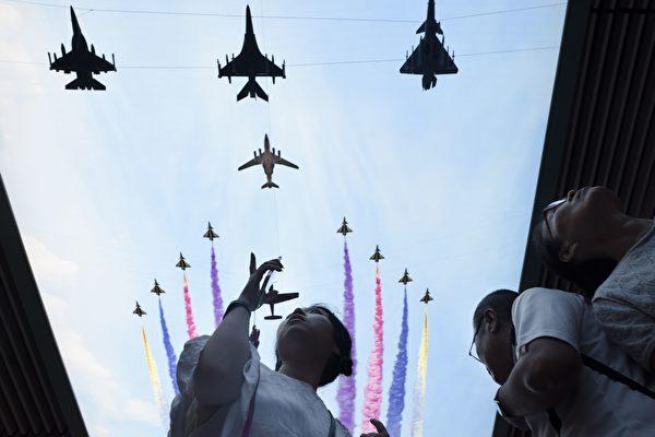 對駐守在太平洋區域的美軍來說,相較於朝鮮核武危機,來自中共的潛在威脅更令人擔憂。(WANG ZHAO/AFP/Getty Images)