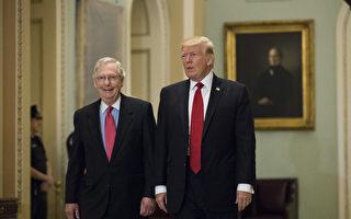 感恩节后川普推税改 下周会见共和党参议员