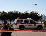 周二(10月31日),在曼哈頓下城世界貿易中心附近發生卡車撞人事件,造成8人死亡、12人受傷。 (Andy Kiss/Getty Images)