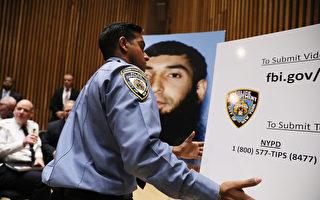 11月1日纽约警方调查人员就曼哈顿恐袭案件继续展开调查。 (Spencer Platt/Getty Images)