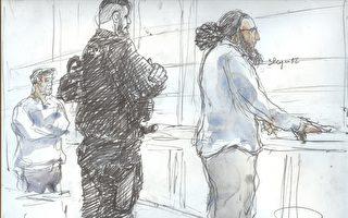 """11月2日周四,巴黎重罪法庭以""""协同刑事犯罪的恐怖主义罪犯""""的名义判处35岁的阿布德拉代尔.梅拉赫(Abdelkader Merah)20年徒刑。(BENOIT PEYRUCQ/AFP/Getty Images)"""