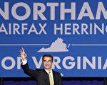 美国维吉尼亚州州长选举7日晚揭晓,民主党候选人、现任副州长诺瑟姆(Ralph Northam)胜出,赢得54%的选票。(Win McNamee/Getty Images)