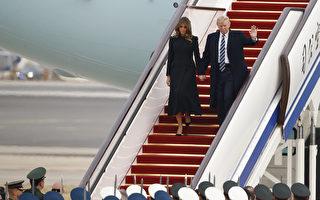 当美国总统川普(特朗普)抵达北京,他将对中共严厉的审查制度不屑一顾。(Thomas Peter-Pool/Getty Images)
