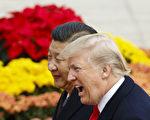 美國總統川普(特朗普)週六(11月11日)宣布,中國國家主席習近平告訴他,北京打算實施新的對朝制裁。 (Thomas Peter-Pool/Getty Images)