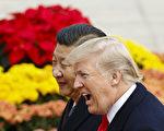 美国总统川普(特朗普)周六(11月11日)宣布,中国国家主席习近平告诉他,北京打算实施新的对朝制裁。 (Thomas Peter-Pool/Getty Images)