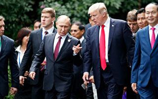 在APEC的峰會上,川普和俄羅斯普京在24小時內共進行了三次談話。 (JORGE SILVA/AFP/Getty Images)