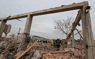 【翻牆必看】寧波爆炸現場的恐怖畫面
