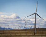 亚省风力发电站。(加通社)
