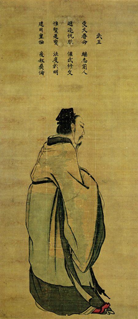 周武王侧身画像(公有领域)