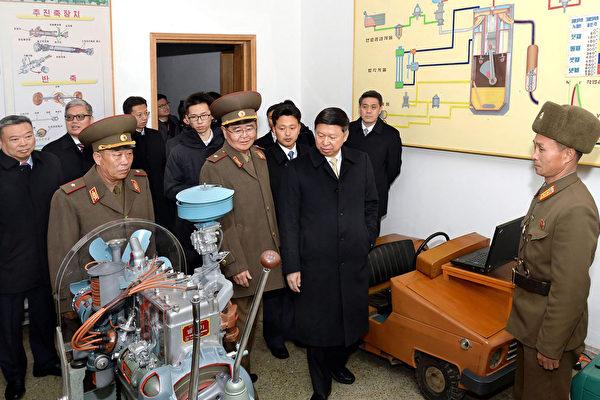 11月17日,中共中联部长宋涛作为习近平的特使飞往平壤。(AFP/Getty Image)