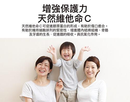 天然维生素C是全家人的保健食品。(图:大医生技提供)