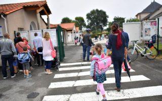 數據顯示,在紐約市的上一個學年裡,父母參與孩子學校生活的比例有所增加。 (Loic Venance/AFP/Getty Images)