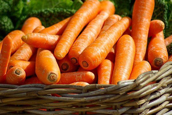 胡萝卜。(jacqueline macou/CC/Pixabay)