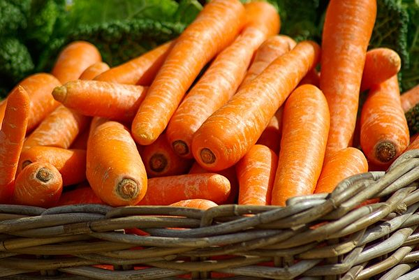 胡蘿蔔。(jacqueline macou/CC/Pixabay)
