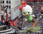 今年第91屆梅西感恩節大遊行,預計有超過一百萬民眾在街頭駐足觀看。(圖為去年遊行情景) (Mario Tama/Getty Images)