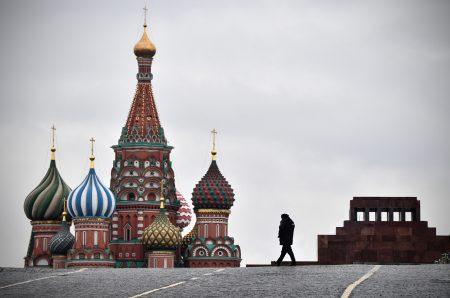 11月7日是俄國十月革命100周年,今年俄國官方沒有紀念活動,人民也興致缺缺。圖為莫斯科紅場。